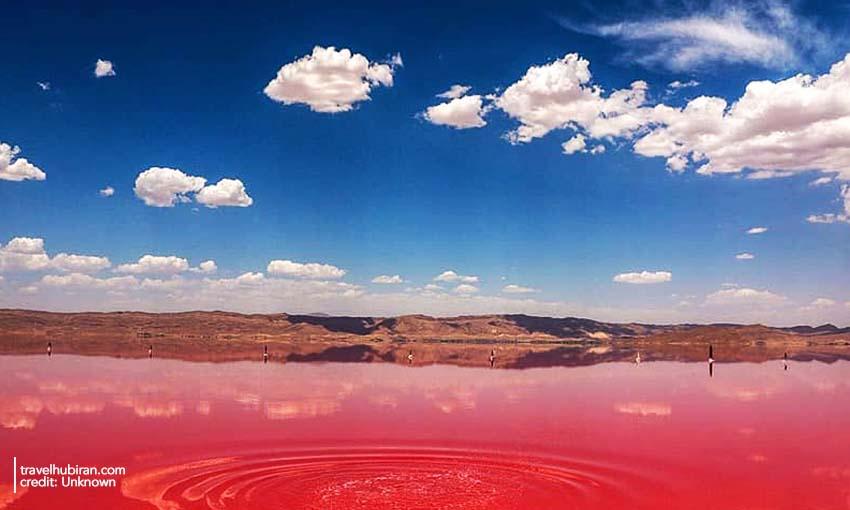 Maharloo Lake Shiraz Iran
