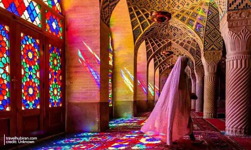 Nasir-ol-Molk Mosque Shiraz Iran